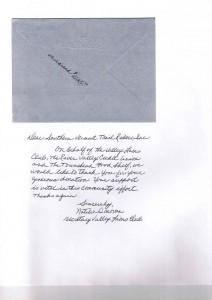 Lions Letter 2010