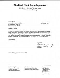 Newbrook Fire letter 2010