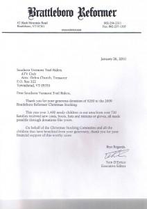 Reformer Letter 2010